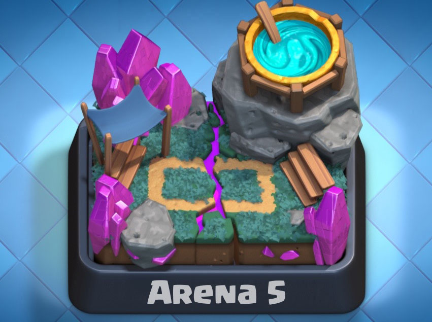 spell valley cards arena 5 clash royale tactics guide