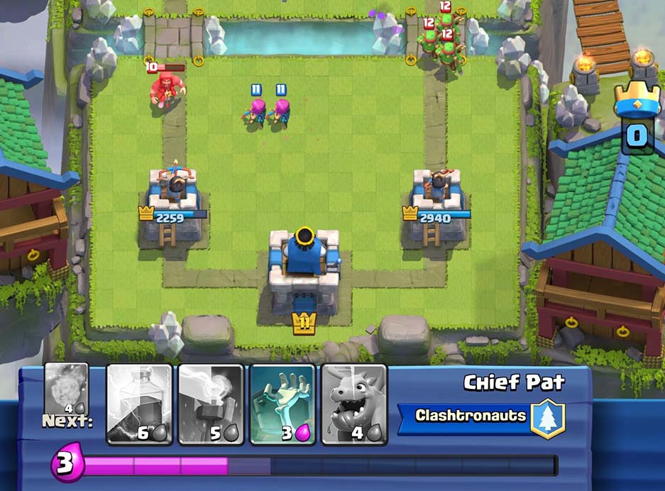 Chief Pat Ranked 2 Global Clash Royale Deck Clash Royale Tactics Guide