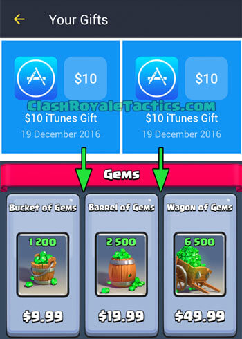 Earn FreeMyApps Credits and Get FREE Gems in Clash Royale