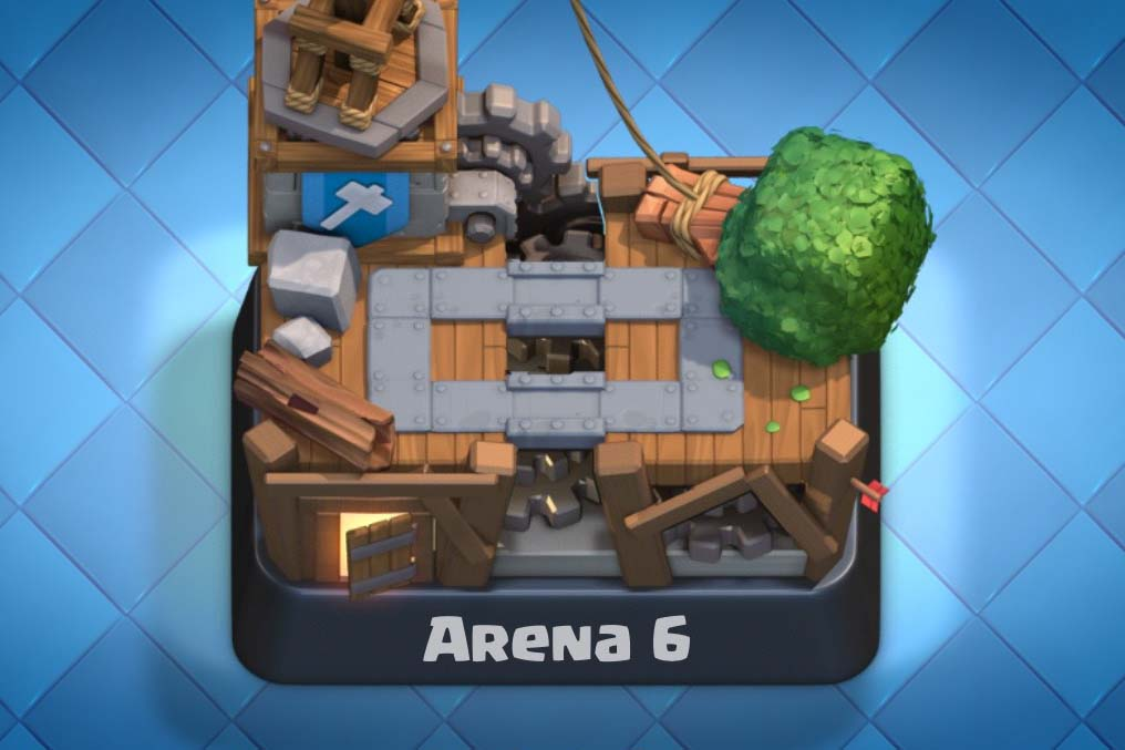 Builder s workshop cards arena 6 clash royale tactics for Deck arene 6 miroir