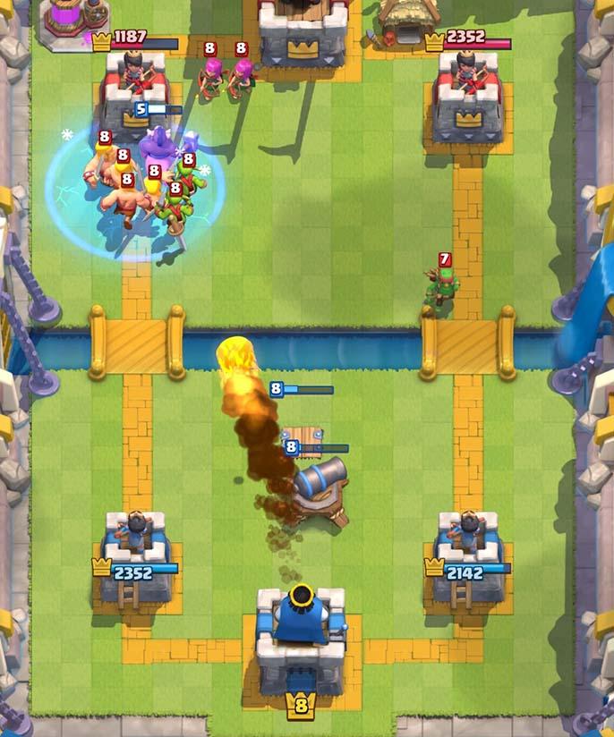 Arena 7 to 8 deck – Legendary Hog Freeze – Clash Royale ...