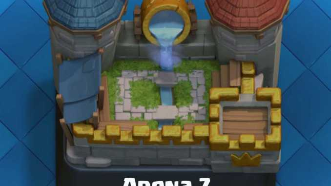 Royal arena cards arena 7 clash royale tactics guide for Best builders workshop deck