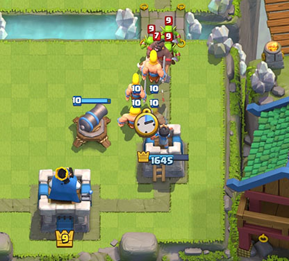 defending-hog-wiht-cannon-barbs