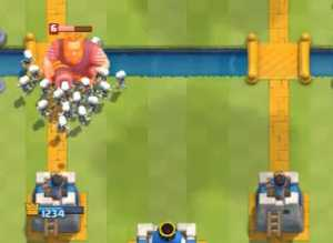 royal-giant-vs-skeleton-army