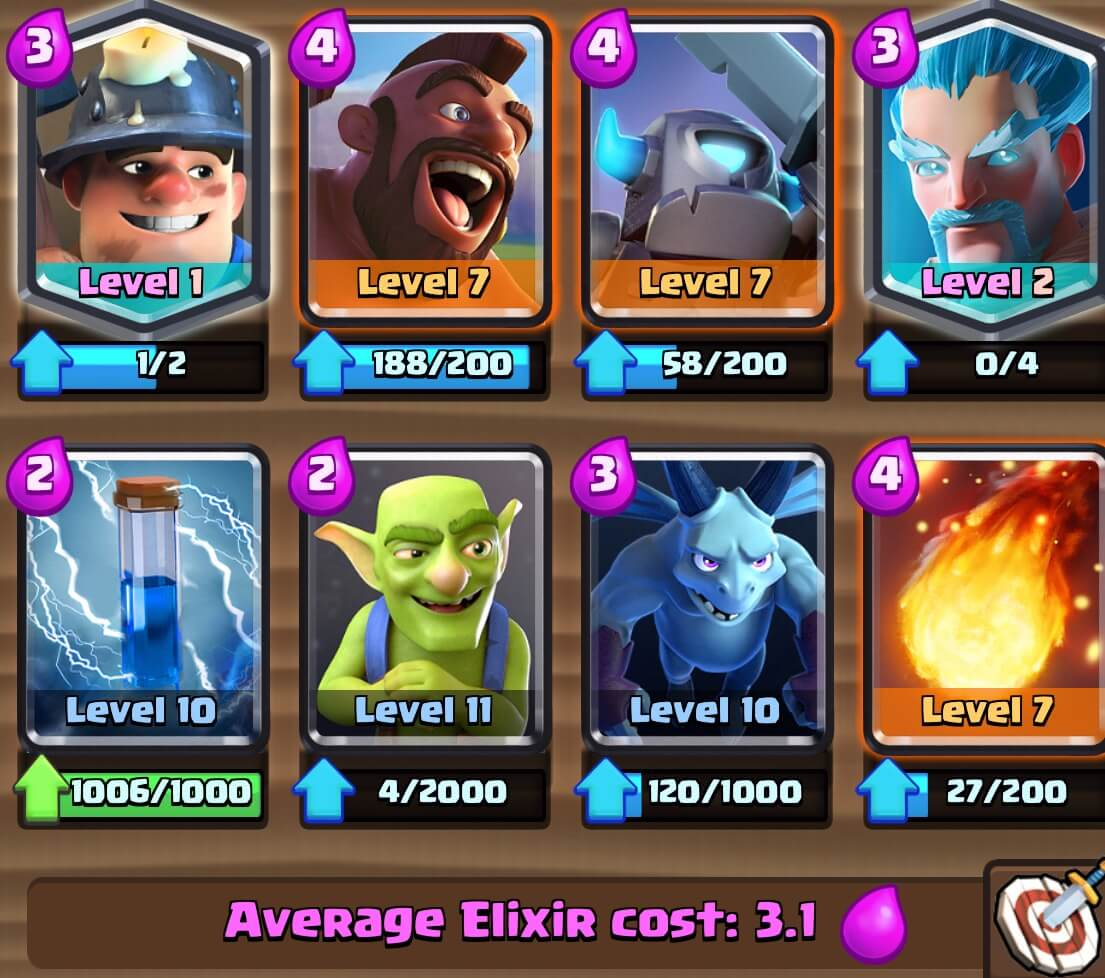 how to build a clash royale deck