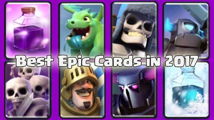 Best Epic Cards in 2017