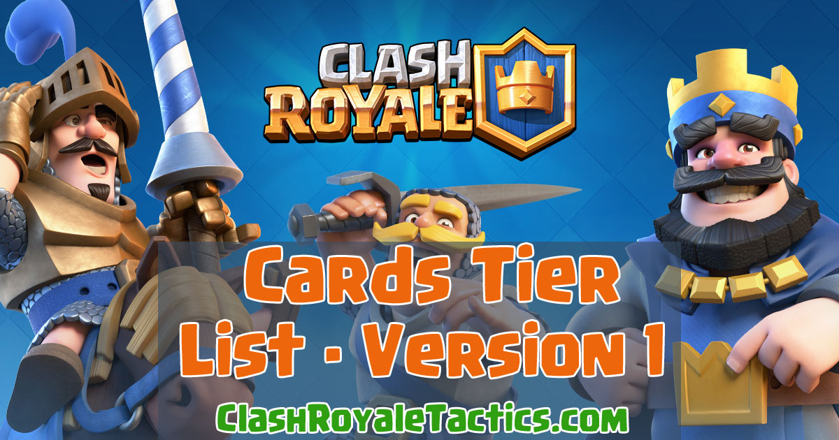 Tier List of Cards for Tournaments – Best to Worst (Compare with ...
