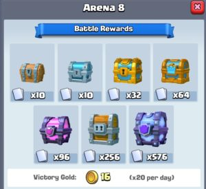 Get Gold for Every Clash Royal Battle you Win